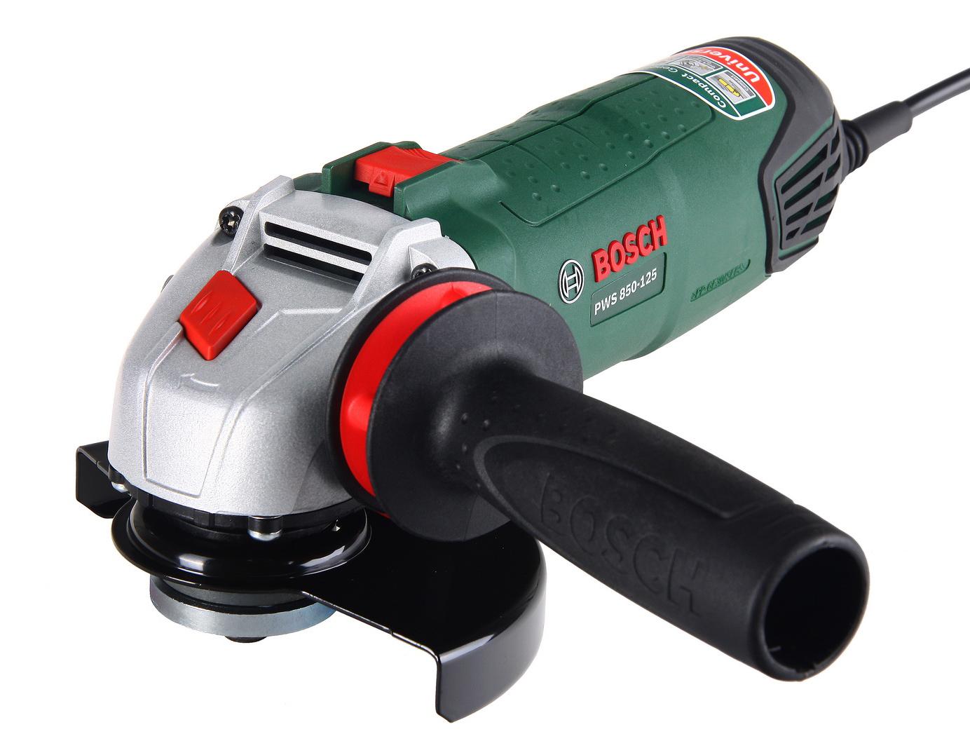 УШМ (болгарка) Bosch Pws 850-125 (0.603.3a2.720) болгарка bosch pws 850 125
