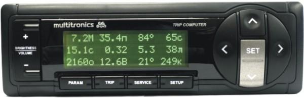 Бортовой компьютер Multitronics Sl-50v маршрутный компьютер multitronics se 50v