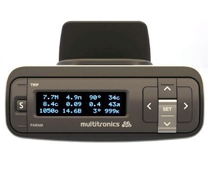 Бортовой компьютер MULTITRONICS VG 1031GPL белый дисплей
