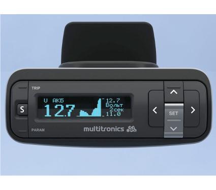 Бортовой компьютер MULTITRONICS VG 1031GPL синий дисплей