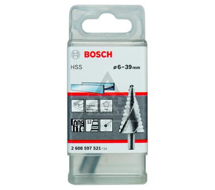Сверло по металлу BOSCH ступенчатое 6-39 мм, трехгр.хв. (2.608.597.521)