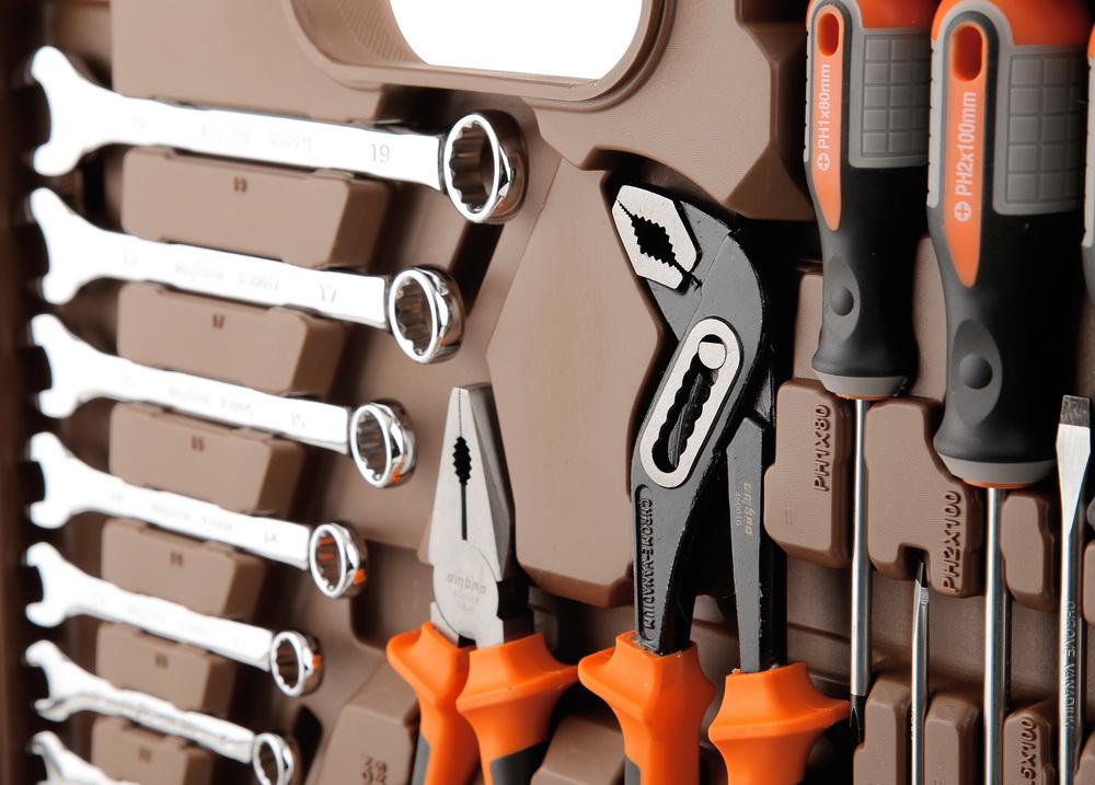 Профессиональный набор инструментов, 77 предметов Ombra Omt77s