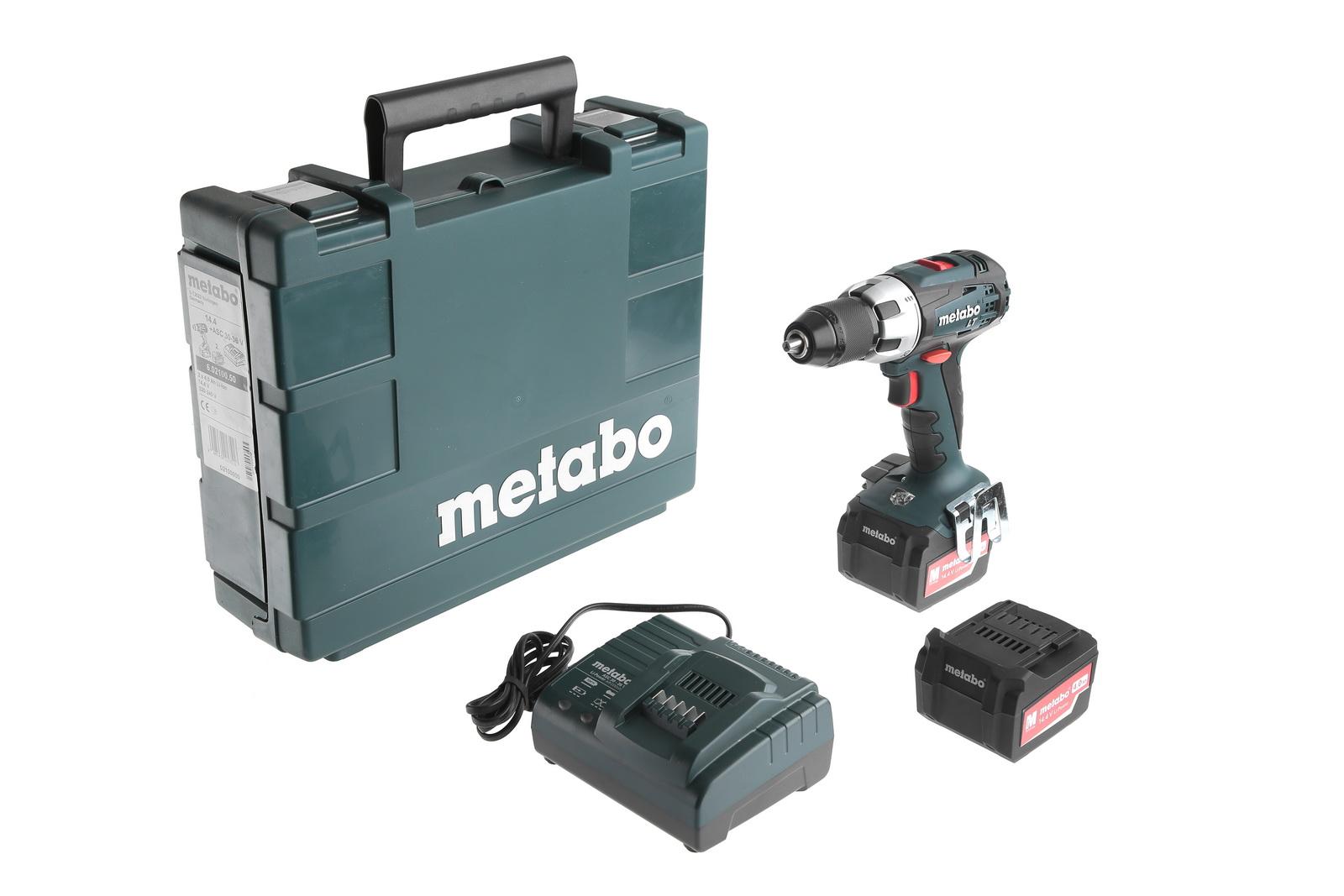 Дрель аккумуляторная Metabo Bs 14.4 lt 4.0 (602100500)