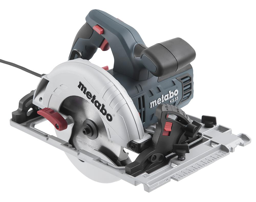 Пила циркулярная Metabo Ks 55 fs (600955000)