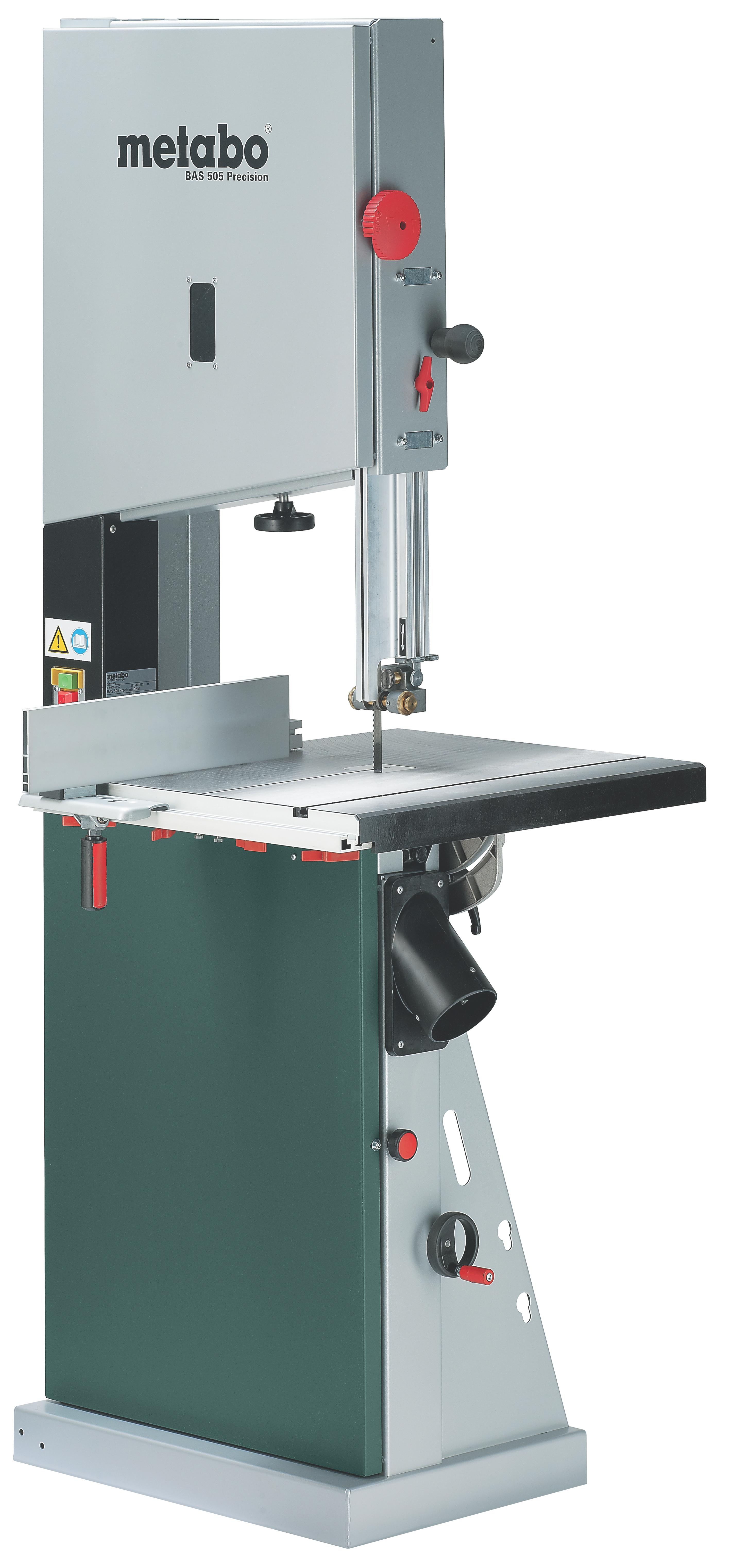 Пила ленточная Metabo Bas 505 precision wnb 220 в - это правильное решение. Потому что купить продукцию марки Metabo - это удобно и недорого.
