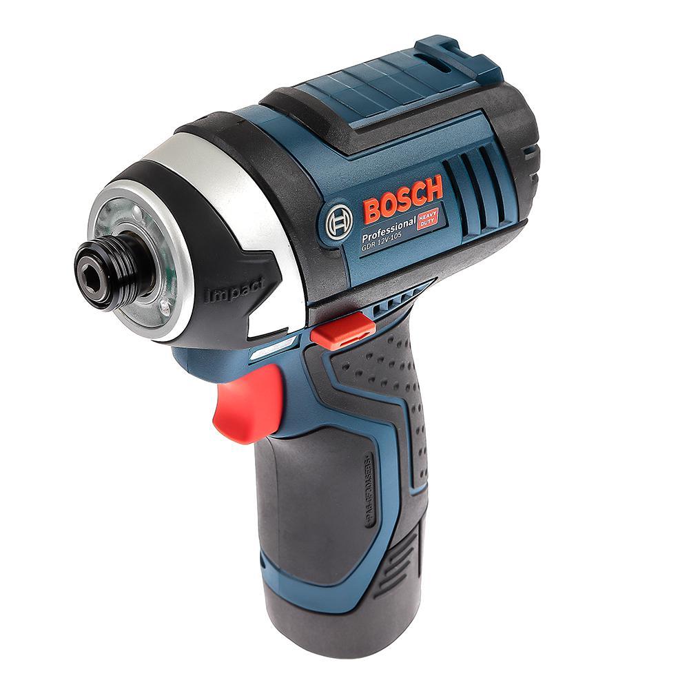 Аккумуляторный ударный гайковерт Bosch Gdr 10,8-li l-boxx (0.601.9a6.977)
