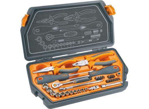 Набор инструментов в чемодане, 33 предмета NEO 08-631