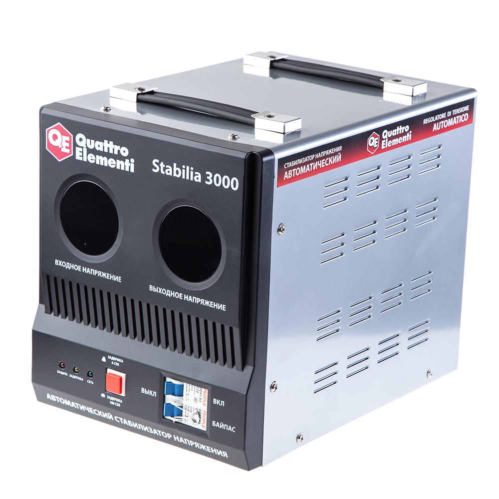 Стабилизатор напряжения Quattro elementi Stabilia 3000 стабилизатор напряжения quattro elementi stabilia 5000