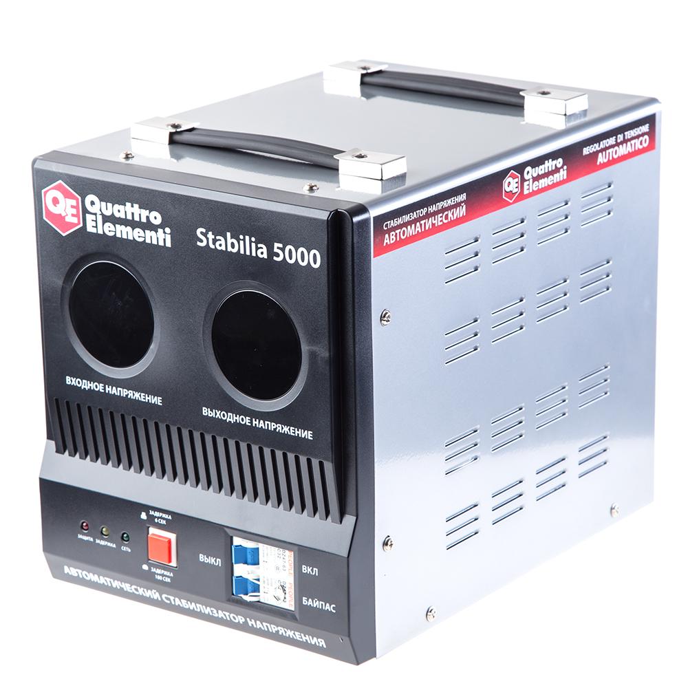 Стабилизатор напряжения Quattro elementi Stabilia 5000 стабилизатор напряжения quattro elementi stabilia 5000