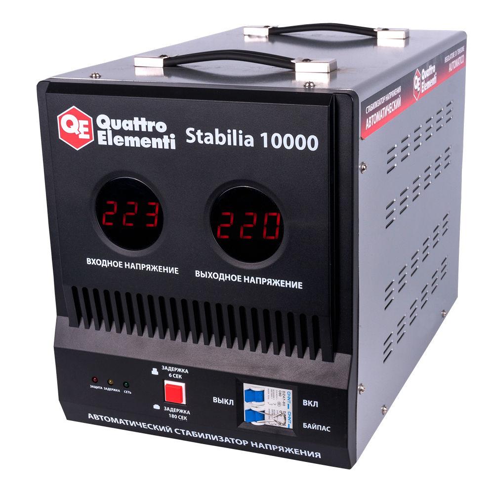 Стабилизатор напряжения Quattro elementi Stabilia 10000 стабилизатор напряжения quattro elementi stabilia 5000