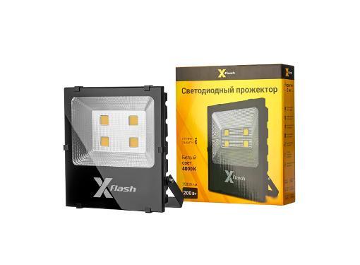 Прожектор светодиодный X-FLASH 49226 XF-FL-COB-200W-4000K