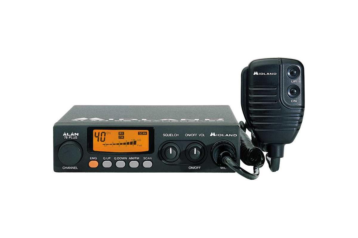 Автомобильная радиостанция ALAN 78PLUS.