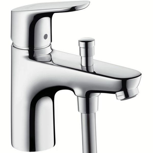 Смеситель для ванны Hansgrohe Focus monotrou 31930000 экран для ванны triton стандарт 120