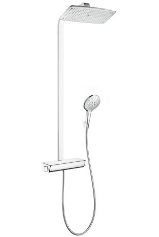 Душевая система Hansgrohe Raindance select showerpipe 360 27112000 душевая система hansgrohe raindance select showerpipe 360 27112000