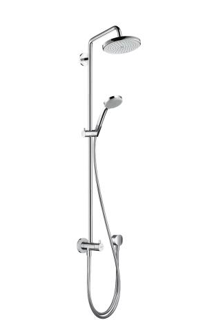Стойка душевая Hansgrohe Croma 220 showerpipe reno 27224000 магазин где можно купить машину reno