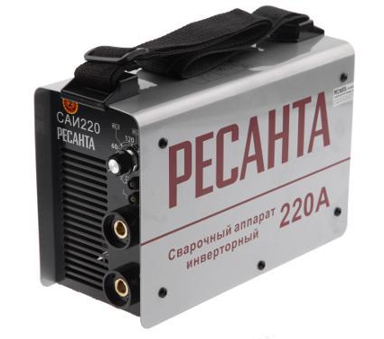 Сварочный инвертор РЕСАНТА САИ 220 (в кейсе)