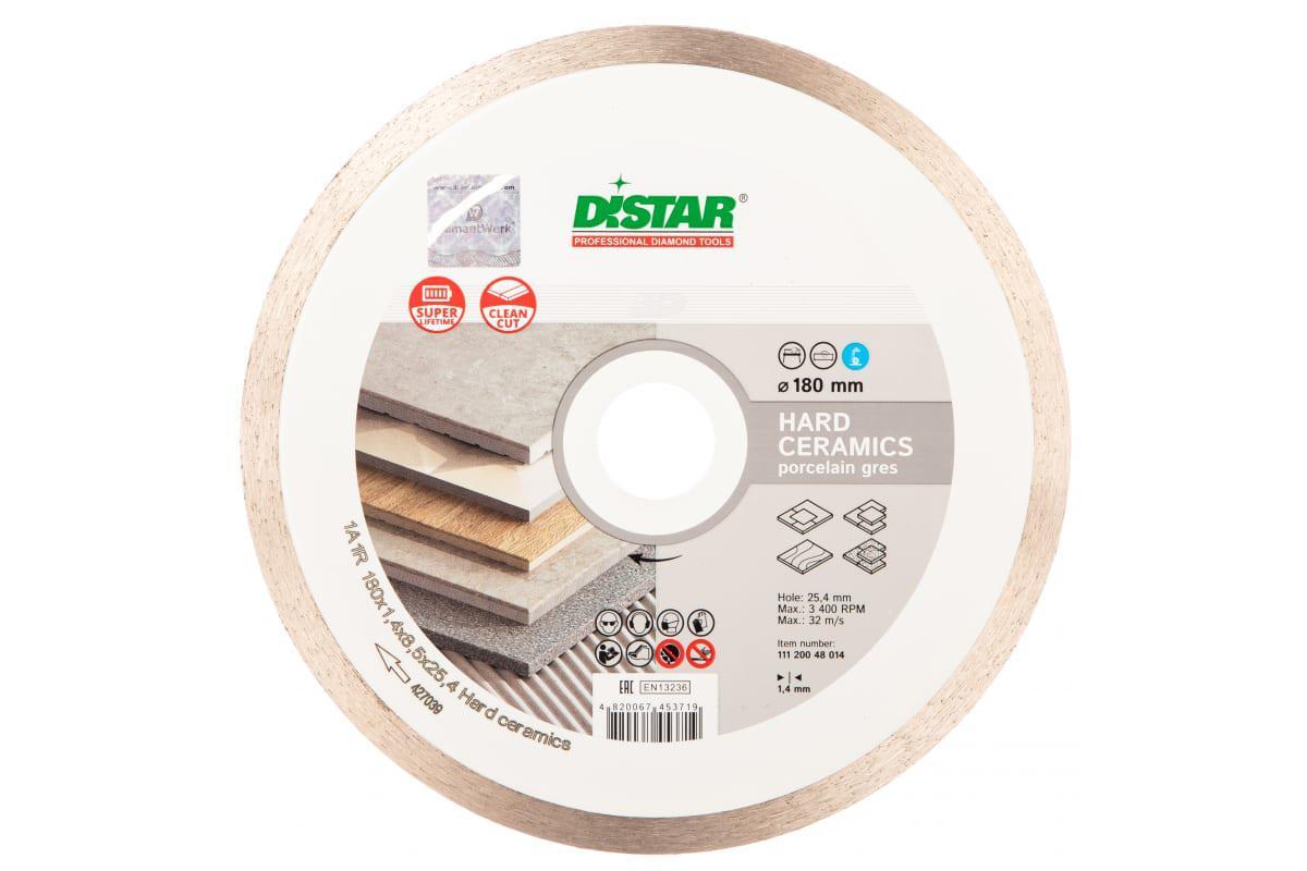 Круг алмазный Distar 1a1r hard ceramics rp25t 234588 180 Х 25.4 круг алмазный distar 1a1r hard ceramics rp25t 249266 125 х 22