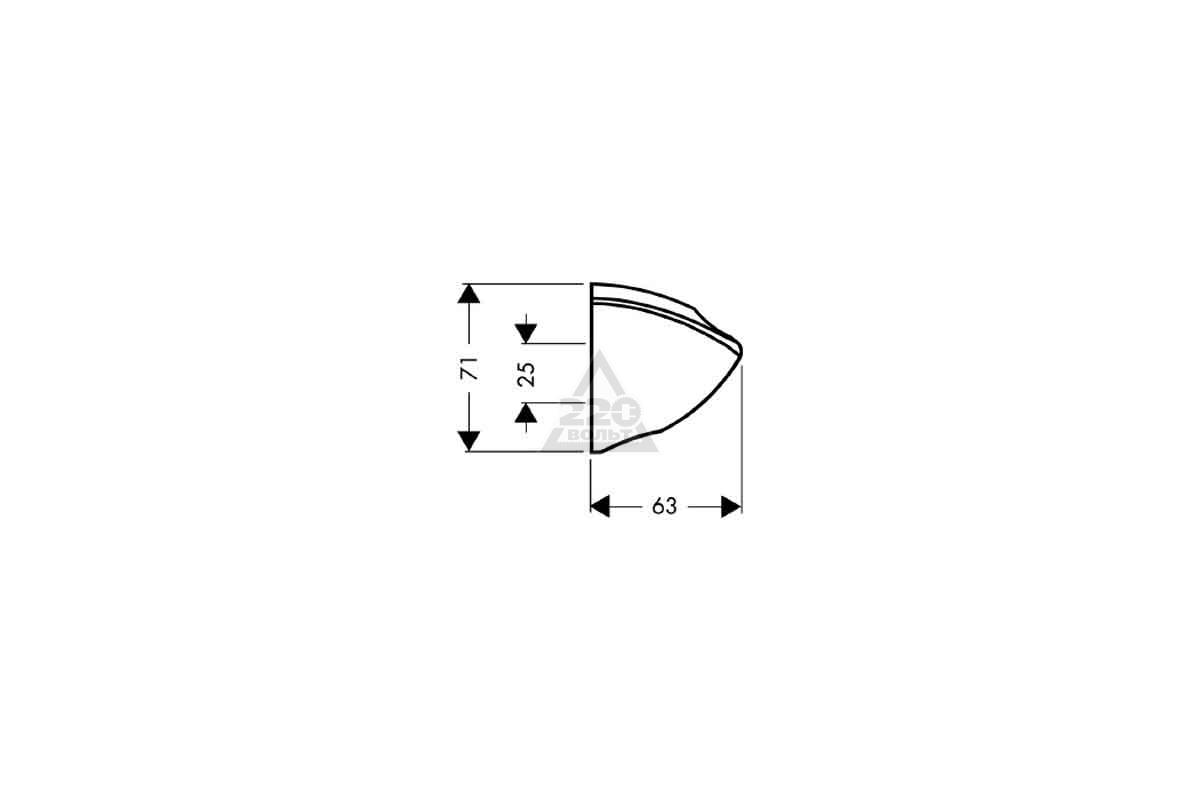 Держатель для лейки Hansgrohe Porter C 27521000
