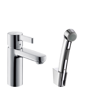 Смеситель с гигиеническим душем Hansgrohe Metris s 31160000 hansgrohe metris classic 31478000 для ванны с душем