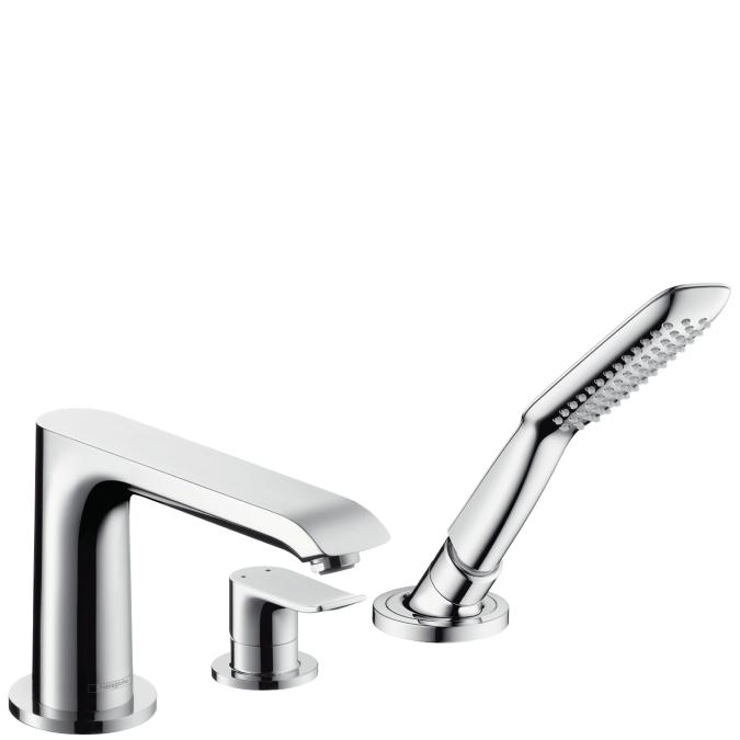 Смеситель с выдвижной лейкой Hansgrohe Metris 31190000 hansgrohe metris classic 31478000 для ванны с душем