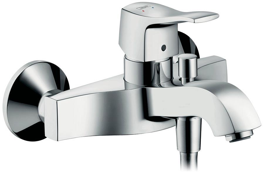 Смеситель для ванны Hansgrohe Metris classic 31478000 hansgrohe metris classic 31478000 для ванны с душем