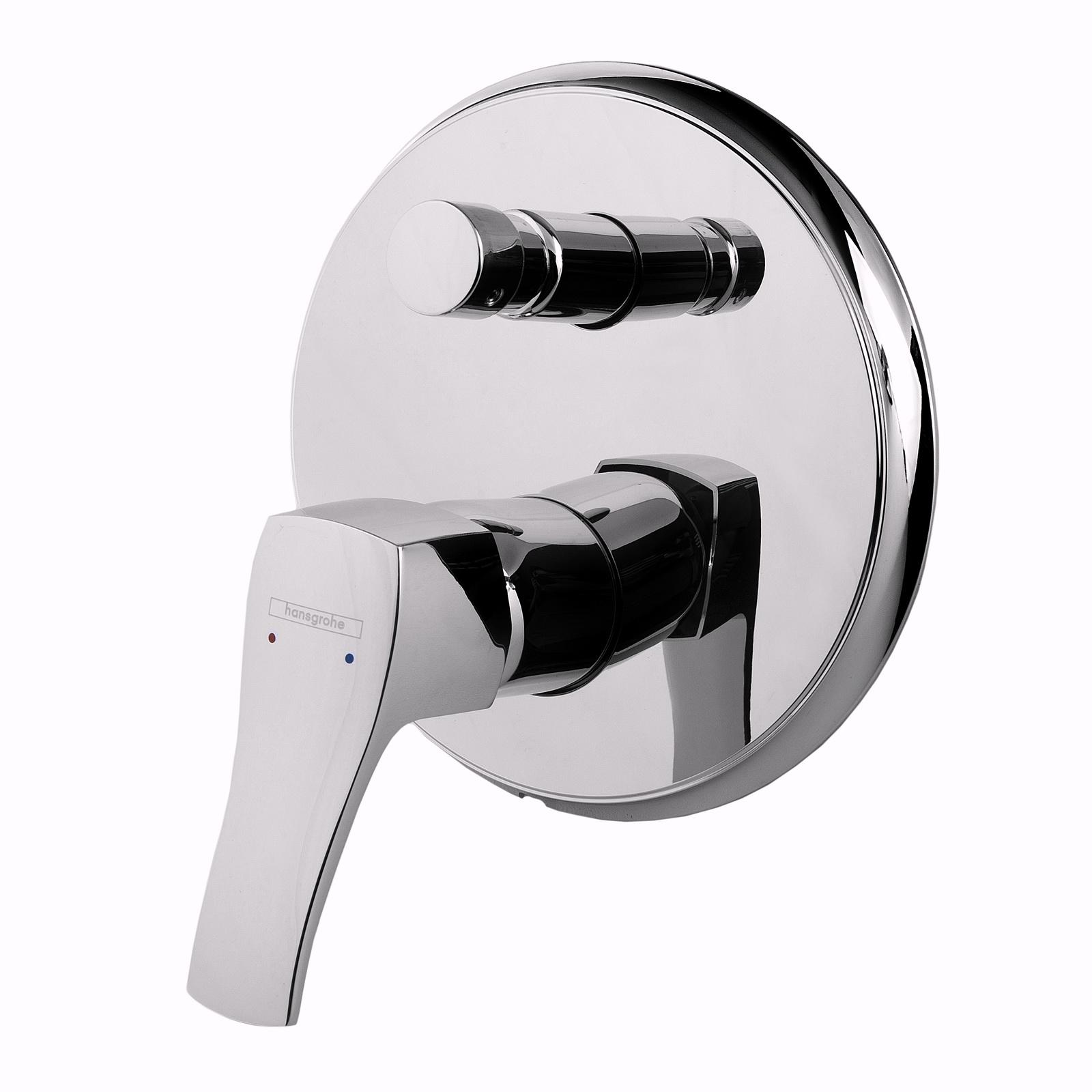 Смеситель врезной Hansgrohe Metris classic 31485000 hansgrohe metris classic 31478000 для ванны с душем