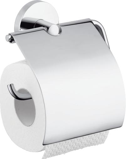 Держатель для туалетной бумаги Hansgrohe Logis 40523000 держатель для туалетной бумаги milardo amur хром amusmc0m43