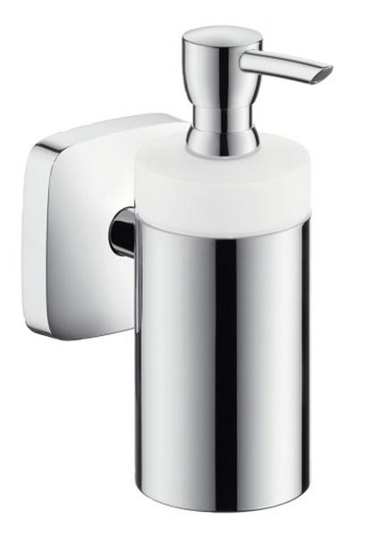 Дозатор для жидкого мыла Hansgrohe Puravida 41503000 настенный стакан hansgrohe puravida 41504000 латунь керамика