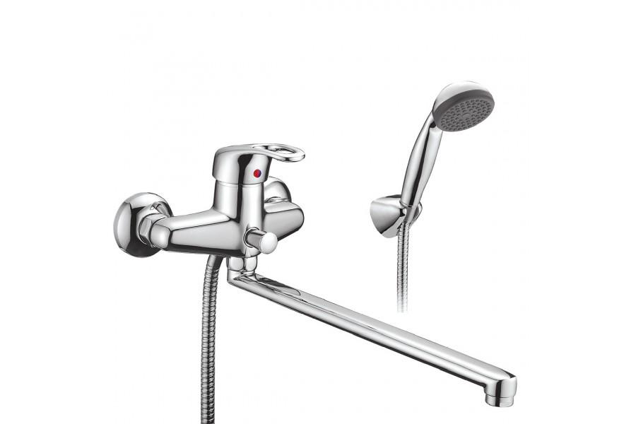 Смеситель для ванны Smartsant Смарт-Тренд sm054002aa_r смеситель для кухни smartsant смарт шот sm193501aa