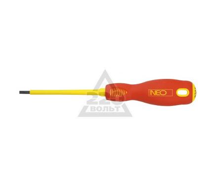 Отвертка диэлектрическая шлицевая NEO 04-055