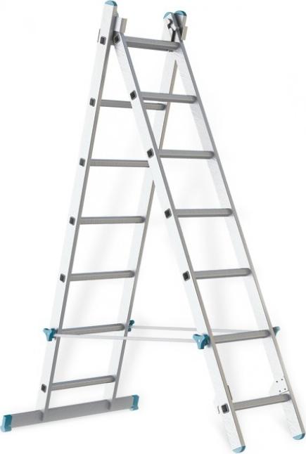 Лестница алюминиевая складная Rigger 101207