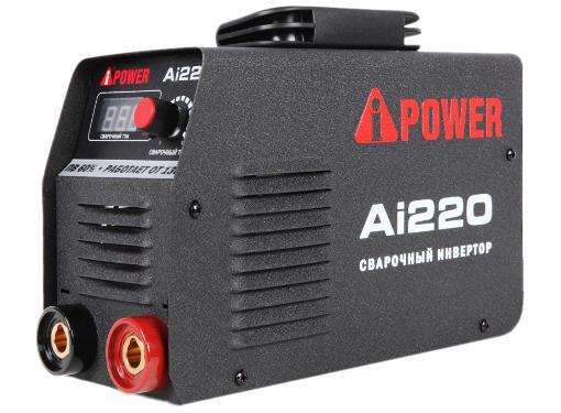 Инвертор сварочный A-iPOWER Ai220 (61220)