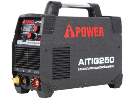 Инвертор сварочный A-iPOWER AiTIG250 (62250)