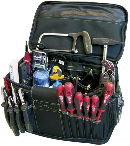 Набор инструментов, 25 предметов Haupa 220556 набор инструментов сервис ключ 25 предметов 1 2