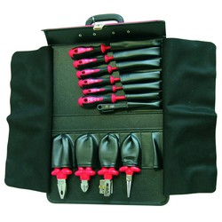 Набор инструментов для электрика, 11 предметов Haupa 220130 профессиональный набор инструментов 20 предметов haupa 220168
