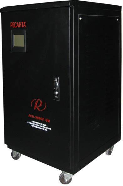 Стабилизатор напряжения РЕСАНТА АСН-30000/1-ЭМ стабилизатор напряжения ресанта асн 30000 3 эм
