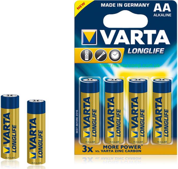 Батарейка Varta Longlife 4106101414 4шт
