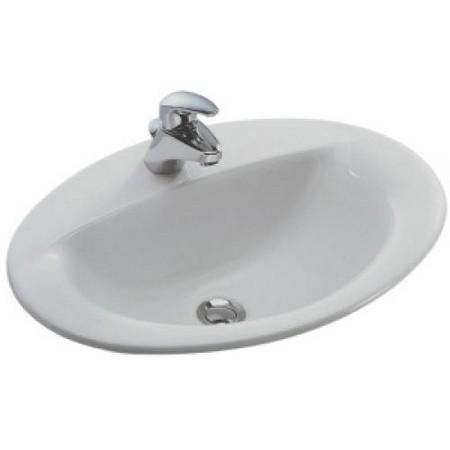 Раковина для ванной Jacob delafon Odeon/patio e4155-00 панель фронтальная для ванны jacob delafon patio 170х70 см