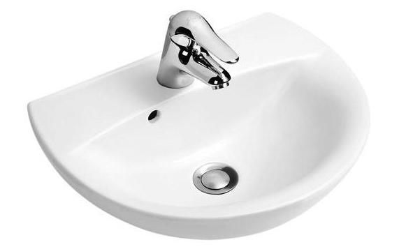 Раковина для ванной Jacob delafon Odeon/patio e4152-00 панель фронтальная для ванны jacob delafon patio 170х70 см