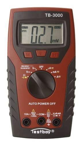 Мультиметр цифровой с сенсором напряжения 220 Вольт 5843.000