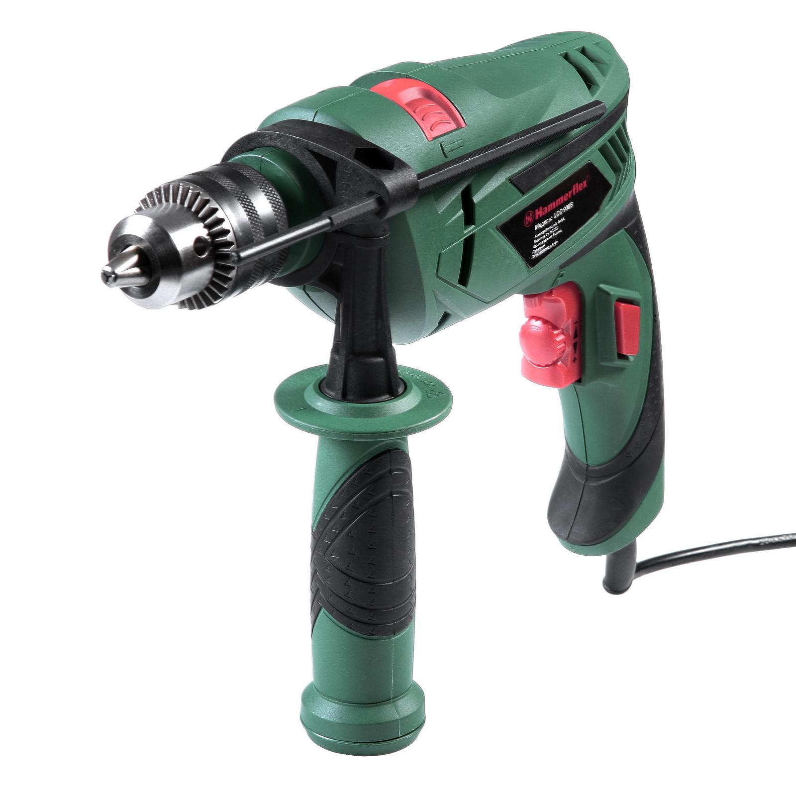 Дрель ударная Hammer Udd900b  (111-016)