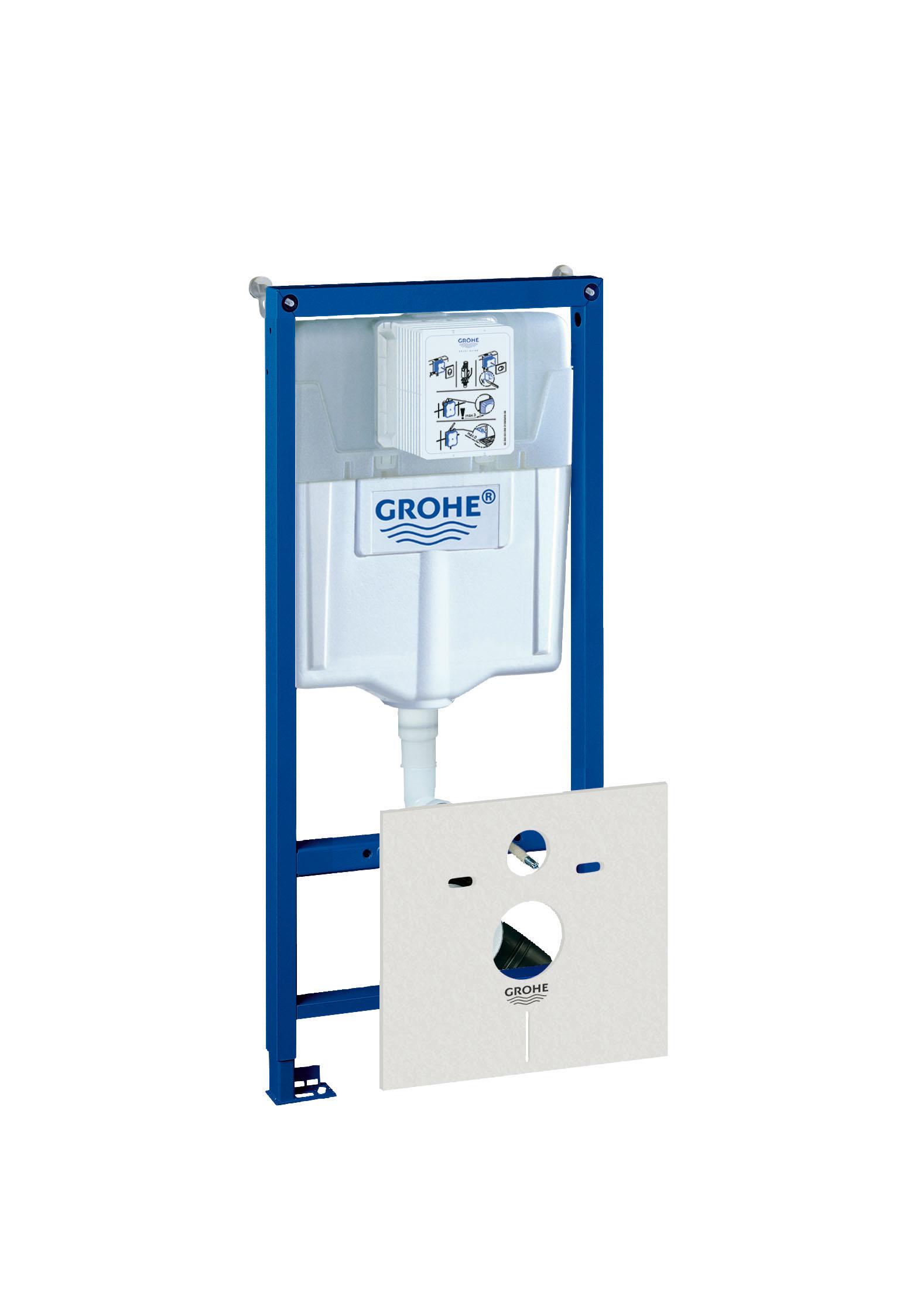 Инсталляция для унитаза Grohe Rapid sl 38539001 инсталляция grohe rapid sl 38840000 для подвесного унитаза