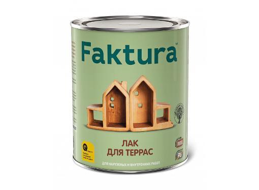 Лак для террас FAKTURA 0,7л (208510)