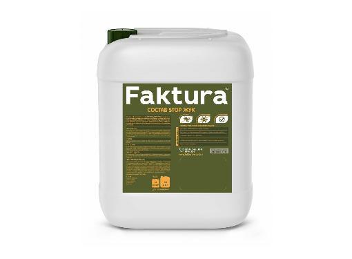 Состав для древесины FAKTURA STOP ЖУК 10л (О02555)
