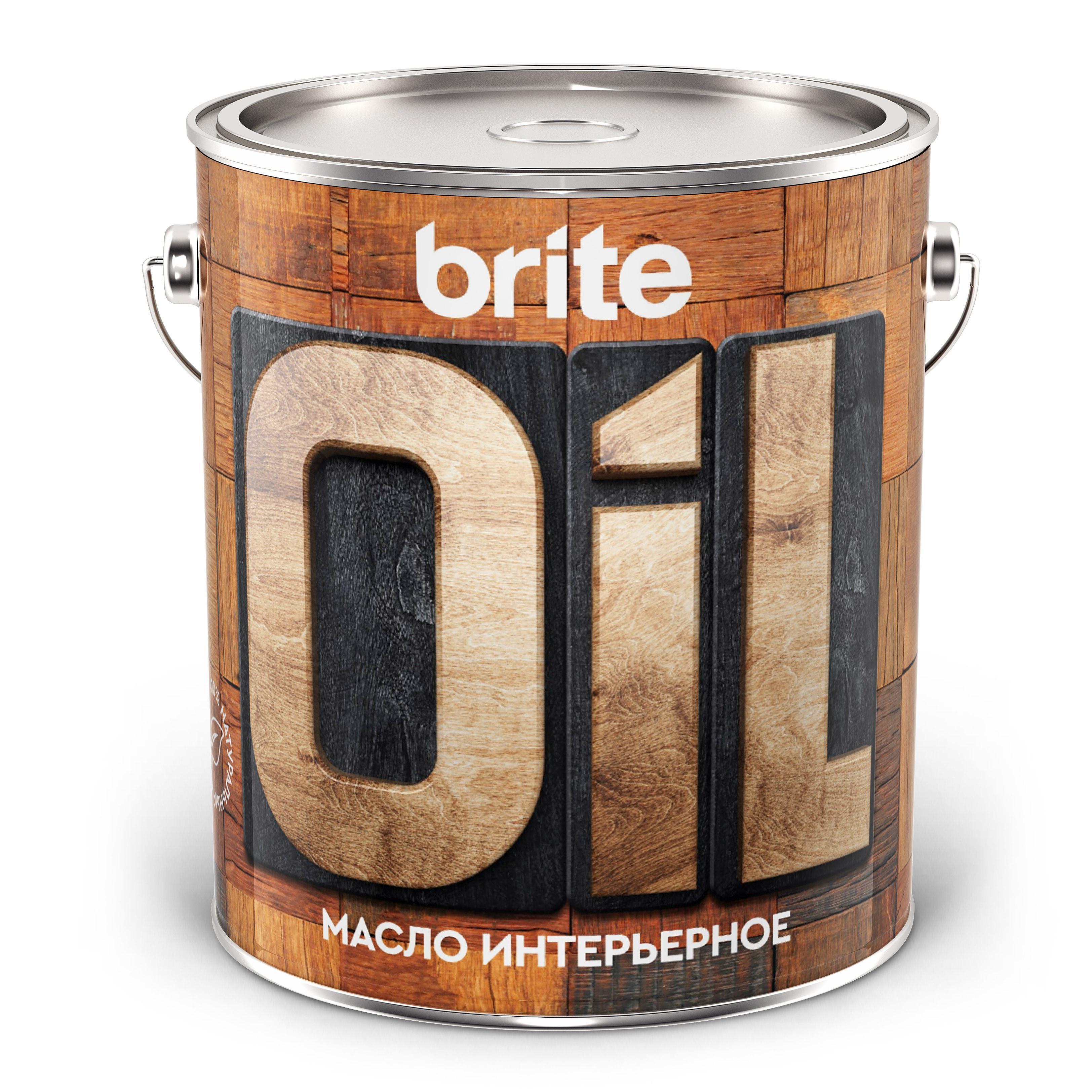 Масло Brite интерьерное, 2,5л (211154)