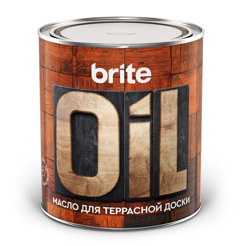 Масло-воск Brite для террасной доски, 0,75л (211151)