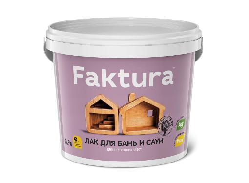 Лак FAKTURA 0,9л (О02539)