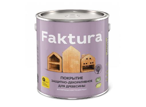 Покрытие защитно-декоративное FAKTURA Беленый дуб 2,5л (209260)