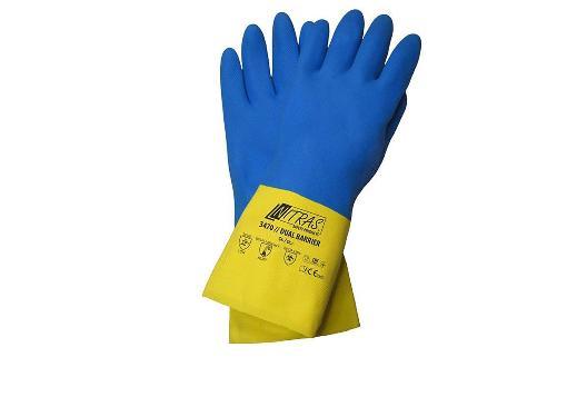 Перчатки хозяйственные NITRAS 3470-s5-10
