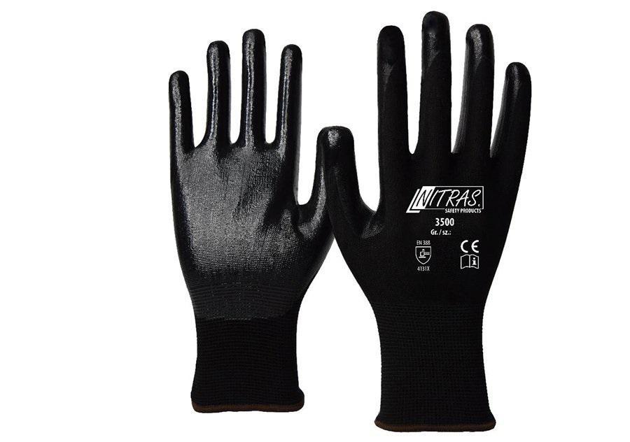 Перчатки защитные Nitras 3500-s10-7
